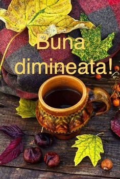 Autumn Leaves, Good Morning, Whimsical, Mugs, Acre, Buen Dia, Fall Leaves, Bonjour, Tumblers