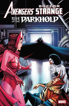 The Paperback of the Avengers/Doctor Strange: Rise Of The Darkhold by Gerry Conway, Mike Ploog, Gene Colan, Yong Montano Marvel Avengers Comics, Marvel Art, Doctor Strange, Scarlet Witch Marvel, Wanda And Vision, Dc Heroes, Comic Covers, Marvel Characters, Marvel Cinematic Universe