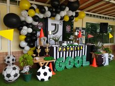 Sports Birthday, Adult Birthday Party, Baseball Party, Soccer Party, Football Themes, Bat Mitzvah, Best Part Of Me, Party Themes, Fun