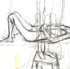 Life drawings (drawing: Lucinda Whittall)