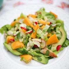 Warm+Bourbon+Spinach+Salad+with+Bacon+&+Avocado | Favorite Places ...