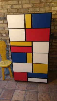 Mondrian inspired multichest