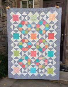 The Fleming's Nine quilt pattern