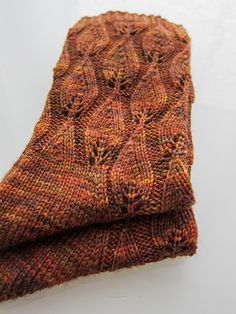 Free sock knitting pattern: Autumn Fires by La Maison de Saba. This free knitting pattern is for a p Lace Socks, Crochet Socks, Knitting Socks, Knit Crochet, Knit Socks, Knitting Patterns Free, Free Knitting, Stitch Patterns, Crochet Patterns
