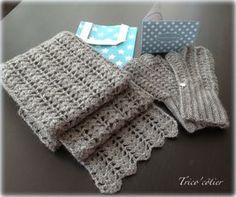 TUTO Echarpe printanière au crochet (spécial débutant) - Mon trico'côtier- Summer Spring Scarf