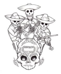 ilustración día de muertos 6
