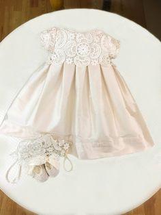 PANG001 - Pandora Christening Dress For Baby Girls | Christening Outfit | Baptism by ChristeningsPandora on Etsy