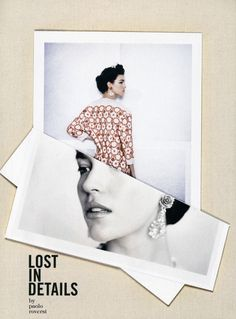 Lost In Details | Arizona Muse | Paolo Roversi #photography | Vogue Italia March 2012 #collage