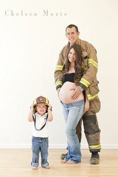 Fire fighter's Maternity! Maternity Marternity #Chelseamariephotography