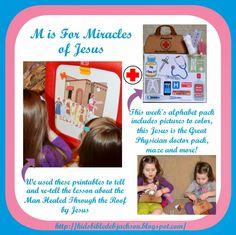 Preschool Alphabet: M is for Miracles