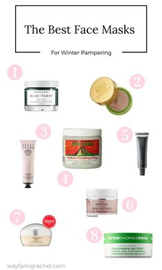 Spending a little more time indoors as the temperature drops? Use that time to pamper your skin with these masks.