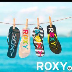 gotta love roxy flip flops