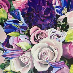 Купить Цветы розы. Авторская картина - авторская картина,картина цветов,картина в интерьер