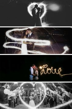 Some of our favorite sparkler writing!