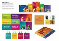 Waitrose Love Life - Brand identity by Pearlfisher London