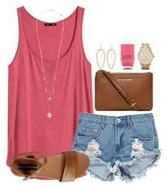 150 pretty casual shorts summer outfit combinations (57)
