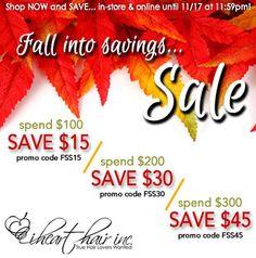 Let's start this season off right ladies!!! #fall #into #savings.....xoxo
