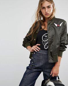 Image 1 ofTommy Hilfiger TommyxGigi Bomber Jacket