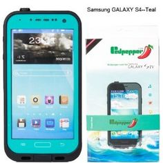 Amazon.com: Samsung Galaxy S4 Waterproof Lifeproof Dirtproof Snowproof Shockproof Case for Samsung Galaxy S4 (Light Blue): Cell Phones & Acc...
