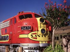 Train at Railroad Museum in Old Sac