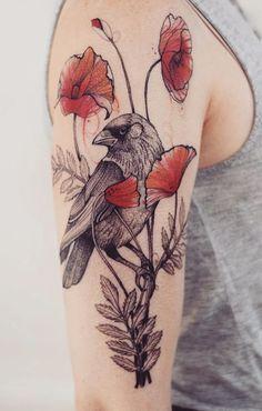 Joanna Swirska Dzo Lama Raven Tattoo