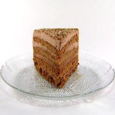 One Perfect Bite: German Chocolate and Almond Cocoa Cream Cake