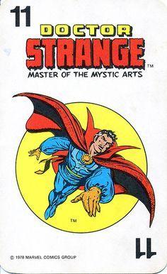 marvel comics superheroes card game 1978 - Google Search