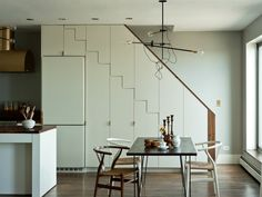 stairs a part of kitchen - Google Search