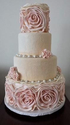 Top Ideas for Wedding Cakes In 2014