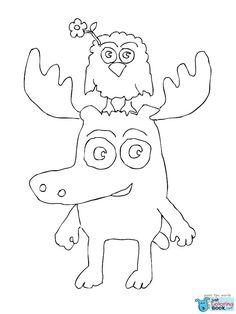 Antelope 8 Deer Coloring Pages Free Printable Coloring