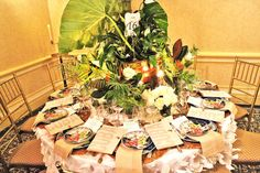 Designers create extravagant tablescapes to raise money for th...
