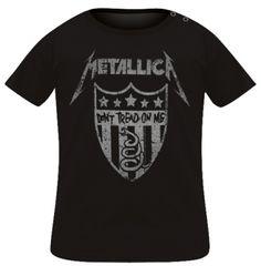 T-Shirt Bébé METALLICA - Don't Treat On Me - T-Shirts - www.rockagogo.com