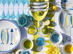 Decoration de table bord de mer