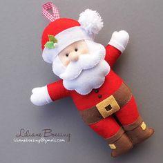 Bom dia!  Eu sei que muitos de vocês, meninas e meninos arteiros, também estão na loucura de produção para o Natal. Procurando moldes e id...