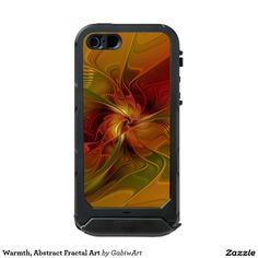 Warmth, Abstract Fractal Art Waterproof iPhone SE/5/5s Case