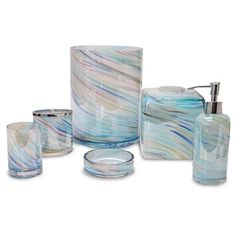 Veratex Blue Horizon Bath Collection - 17547405 - Overstock - The Best Prices on Veratex Other Bath Accessories - Mobile