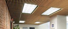 WoodWorks Grille. Alternative for basement drop ceiling.