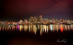 WALLPAPERS HD: Vancouver City Nights