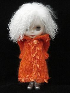 Love the white mohair wig.