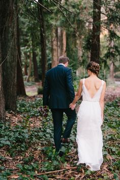 Dreamy and romantic Stern Grove wedding in San Francisco. Book themed wedding with the most beautiful ceremony ever! // SimoneAnne.com