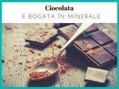 Ciocolata e bogata in minerale #ciocolata #cacao #ciocolataneagra  Descopera ciocolata extraordinara www.chocoliciousbox.com