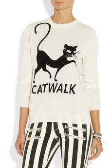 26 Things Every Aspiring Crazy Cat Lady Needs To Own Fashion Showroom, Pullover, Pretty Outfits, Pretty Clothes, Crazy Cat Lady, Cashmere Sweaters, Chic, Everyday Fashion, Catwalk