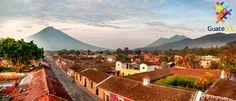 Guate360.com | Fotos de La Antigua Guatemala - La Antigua Guatemala amaneciendo