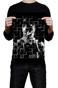 #Cartaz nós somos o Colletivo, criado a partir de fotos de 3 integrantes do grupo que realizaram o projeto.