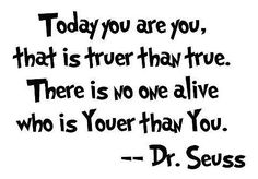 Thank you Dr Seuss