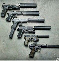 Variety guns