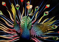 every feather is a separate piece: tribus mixes cooperative, oaxaca