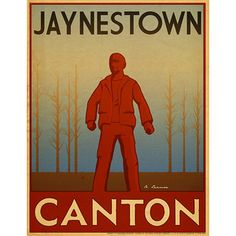 Firefly Travel Poster: Jaynestown- Now here is what separates heroes/From common folk like you and I/The man they call Jayne/He turned 'round his plane/And let that money hit sky/He dropped it onto our houses/He dropped it into our yards/The man they called Jayne/He stole away our pain/And headed out for the stars