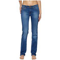 Klassische Hilfiger Denim Jeans SUNST im Slim Fit mit Stretchanteil und mittel-blauer Waschung. Das Flag-Label befindet sich auf Münz- und Gesäßtaschen.90% Baumwolle, 8% Elastomultiester, 2% Elastan...