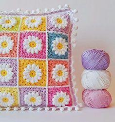 cuscino uncinetto | Hobby lavori femminili - ricamo - uncinetto - maglia